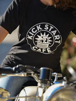 Kick Start Cafe Organic Cotton T-Shirt